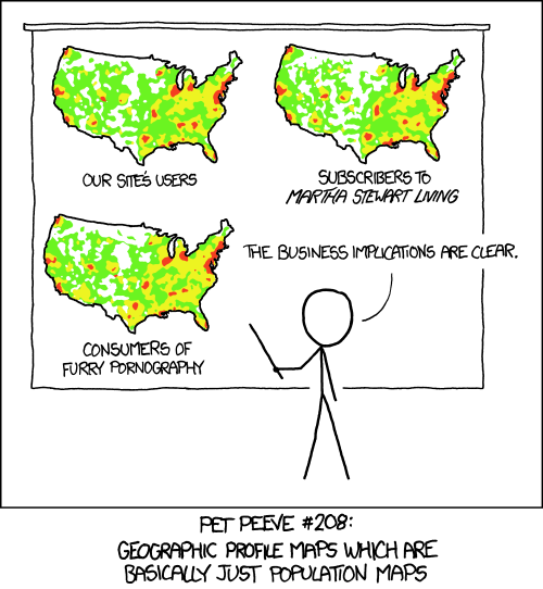Cartoon from XKCD