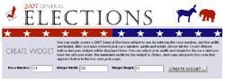 morning call election widget